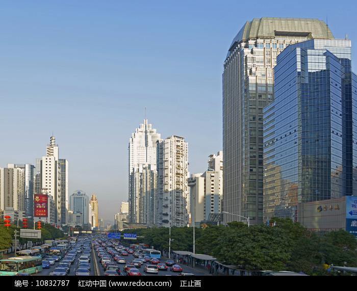 深圳深南大道城市风光图片