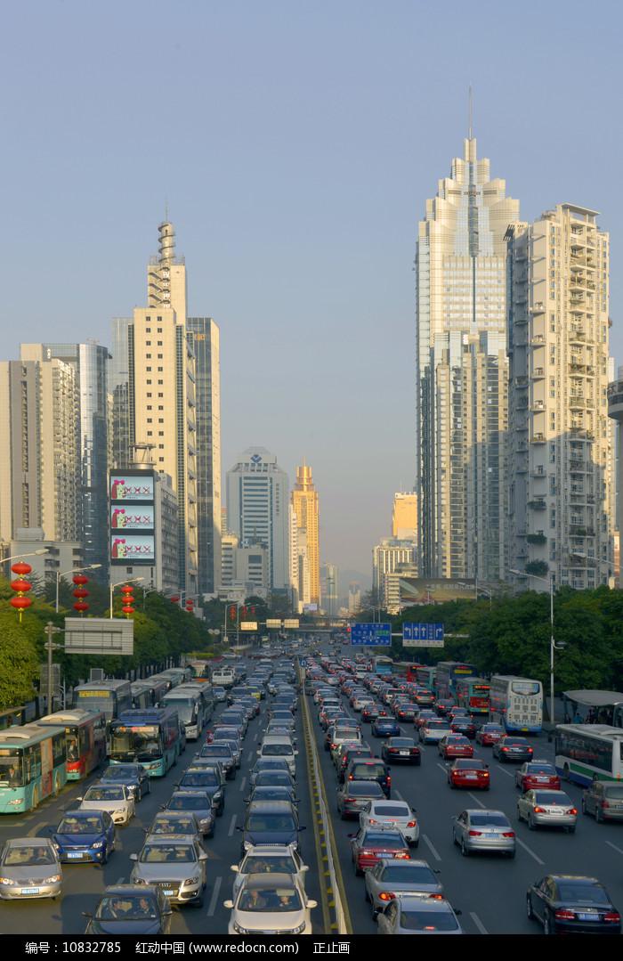深圳深南大道城市及交通 图片