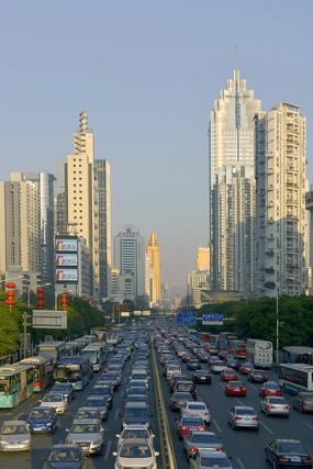 深圳深南大道城市及交通