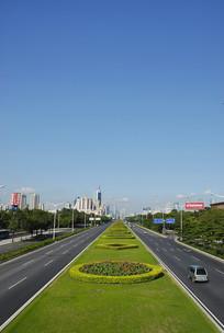 深圳深南道路绿化