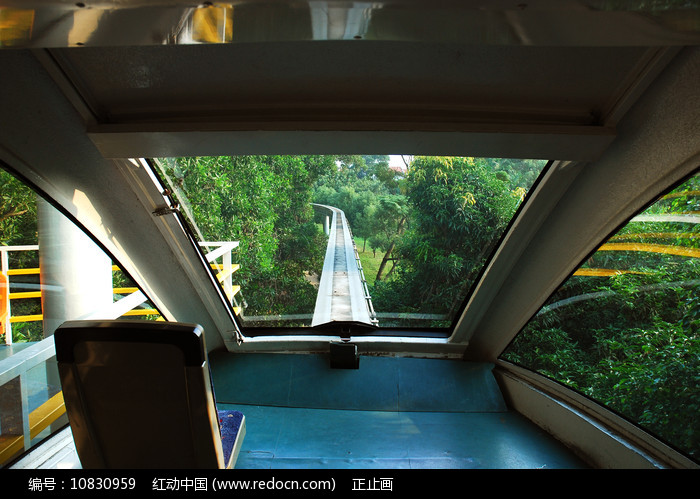深圳欢乐谷快乐干线观光列车图片