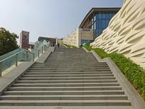 深圳欢乐海岸购物广场和阶梯
