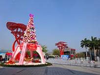 深圳欢乐海岸-狂欢广场雕塑