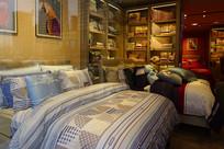 床上用品商品陈列