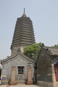 广济寺古塔外景