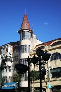 哈尔滨中央大街欧式建筑