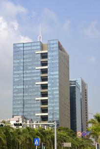 深圳科技园-城市高楼外立面玻璃幕墙