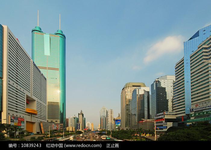 深圳深南大道及地王大厦 图片