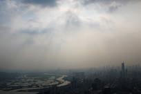 雾霾下的深港两地