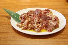 鲜切羊肉火锅菜