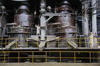 钢铁厂炼钢车间设备全景