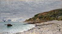 海滩风景画