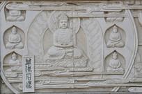锦州佛像历史浮雕