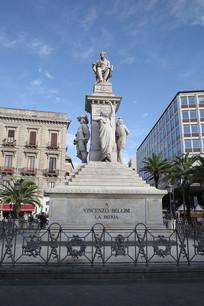 锡拉库萨街头雕像
