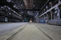 重工业轨道厂房机器设备