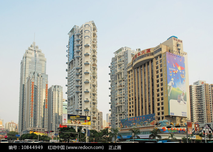 深圳市深南大道高楼大少图片
