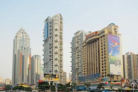 深圳市深南大道高楼大少