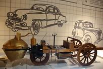 蒸汽机车模型