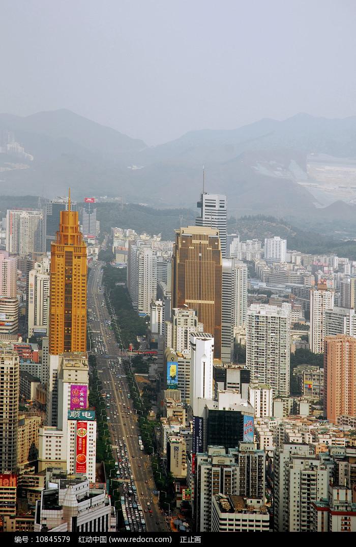 深圳深南东路地区城市建筑 图片