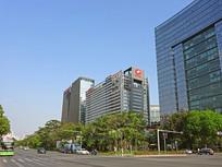 深圳高新技术产业园城市风光