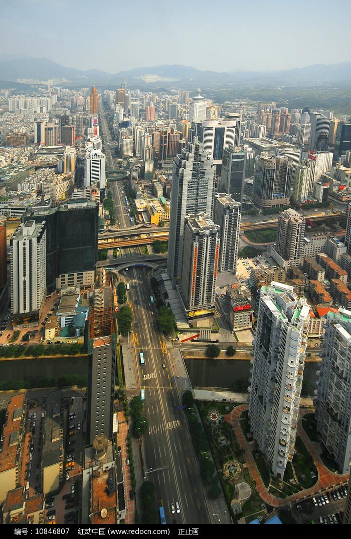 深南大道 深圳标志建筑 图片