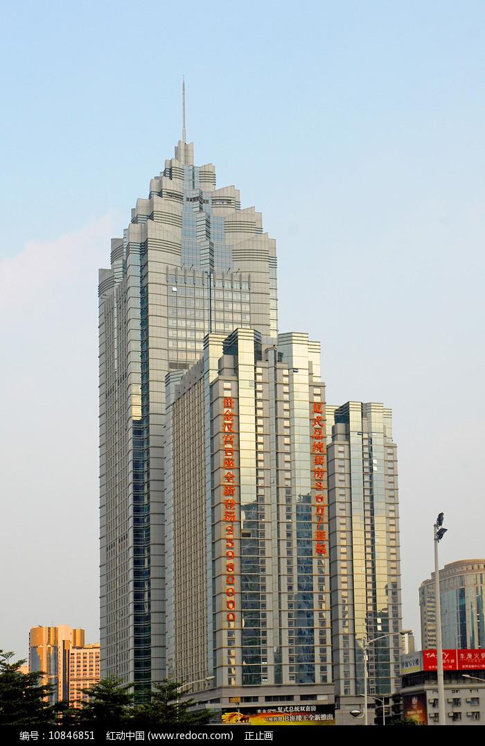 深圳深南大道世界金融中心图片