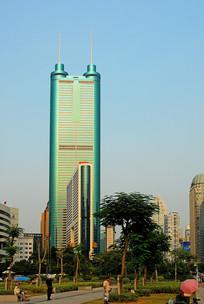 深圳信兴广场的地王大厦