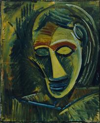 毕加索油画