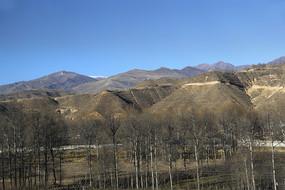 冬日黄土高原