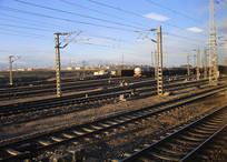 高原繁忙铁路线