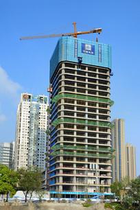 建设中的高楼
