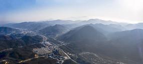 鸟瞰鸡公山