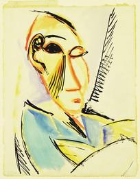 人物抽象画