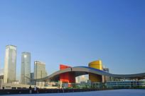 深圳市民中心及城市风光
