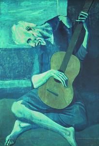 西方人物抽象画