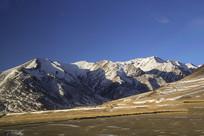 高原雪山拍摄