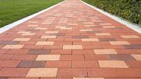 彩砖道路素材