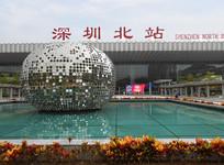 深圳北站及广场雕塑