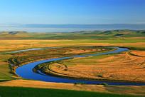 内蒙古呼伦贝尔额尔古纳河牧场