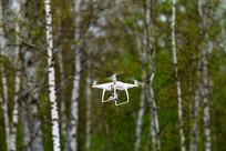 四轴无人机航拍
