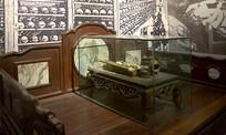 晚清鸦片战争时期的大烟床