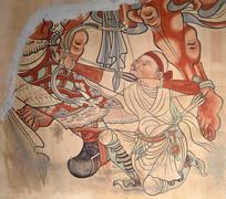 敦煌莫高窟壁画之射箭图