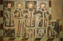 克孜尔尕哈第14窟之龟兹供养人壁画