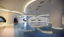上海中心大厦底楼展厅