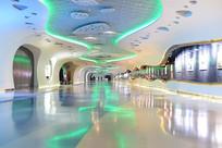 上海中心的展厅