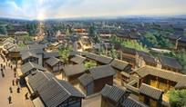 老成都城市复原模型