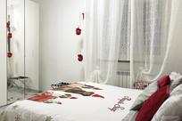 罗马民宿圣诞图案大床房