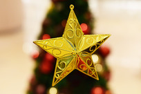 圣诞节星星元素