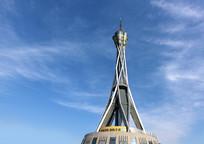 郑州标志建筑-中原福塔