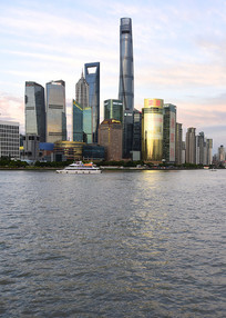 上海陆家嘴楼群